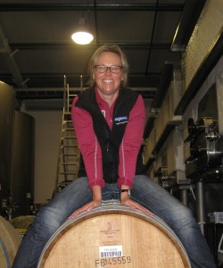 Two Tails Sauvignon blanc Winemaker Sarah Inkersell